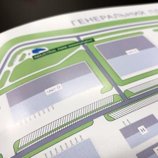 Графічні матеріали: схеми та плани розташування